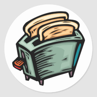 Toaster Stickers