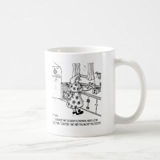 Toaster's Password Basic White Mug