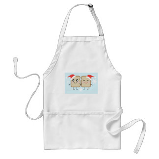 Toasty Love Christmas Standard Apron