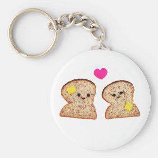 Toasty Love Key Ring