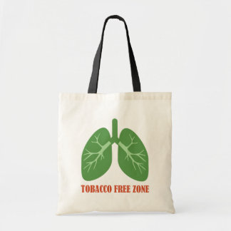 Tobacco Free Zone Tote Bag