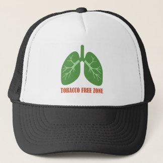 Tobacco Free Zone Trucker Hat