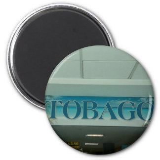 TOBAGO 6 CM ROUND MAGNET