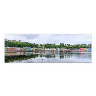 Tobermory, capital of Isle Mull Photo Print