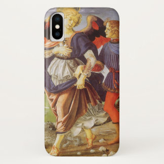 Tobias and the Angel by Andrea del Verrocchio iPhone X Case