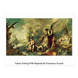 Tobias Fishing With Raphael By Francesco Guardi Postcard
