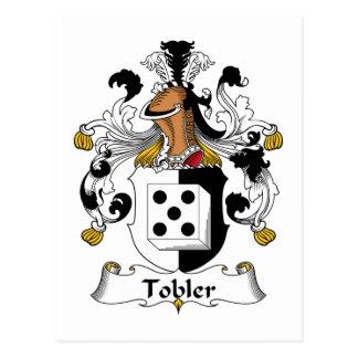 Tobler Family Crest Postcard