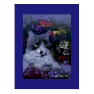 Toby Cat Postcard