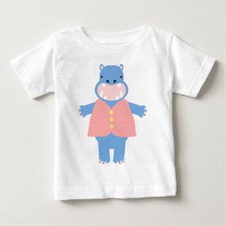 Toby Hippo Baby T-Shirt