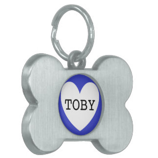❤️   TOBY pet tag by DAL