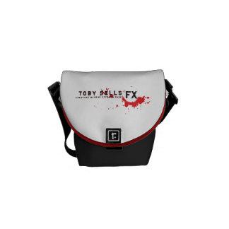 Toby Sells Creature Makeup FX Messenger Bag