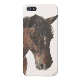 Toby the Pony Matte i-phone5 Case iPhone 5 Cases