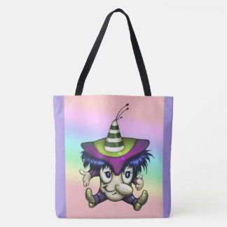 TOCHE ALIEN MONSTER All-Over-Print Tote Bag Large