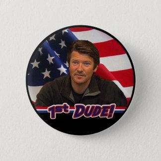Tod Palin 1st Dude Button!  (NEW!) 6 Cm Round Badge