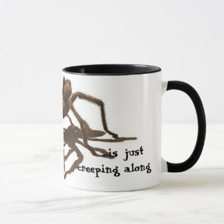 Today Creeps Tarantula Mug