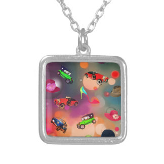Today everything is trendy. silver plated necklace