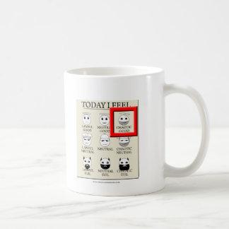 Today I Feel Chaotic Good Basic White Mug