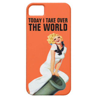 Today I Take Over The World iPhone 5 Cases
