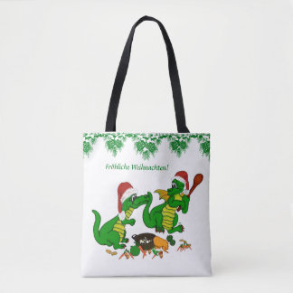 , Today I will cook Christmas dragon Tote Bag