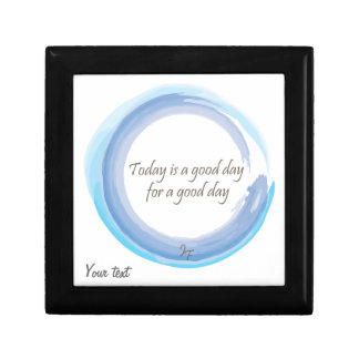 """Today is a good day for a good day"" Gift Box"