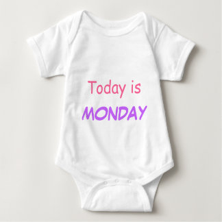 Today is Monday T Shirt