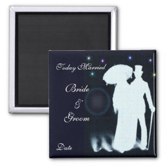Today Married - Wedding Favor Magnet
