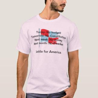 Today: No Budget Tomorrow: No Constitution . . . T-Shirt