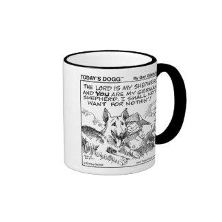 Today's Dogg™ Boy & Dog Ringer Mug