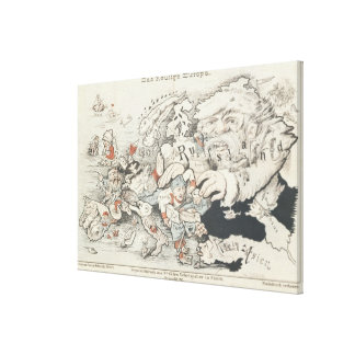 Today's Europe', 1887 Canvas Prints