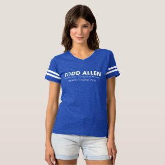 Todd Allen for Congress Logo: Women's Football Sty T-Shirt