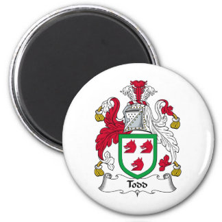 Todd Family Crest Magnet
