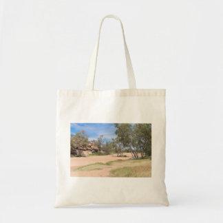 Todd River Basin Near Alice Springs Tote Bag