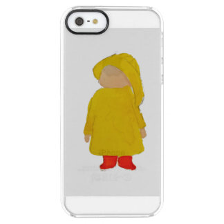 Toddie Time April Showers Rainy Day Toddler Clear iPhone SE/5/5s Case