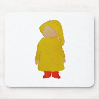 Toddie Time April Showers Rainy Day Toddler Mouse Pad