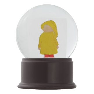 Toddie Time April Showers Rainy Day Toddler Snow Globes