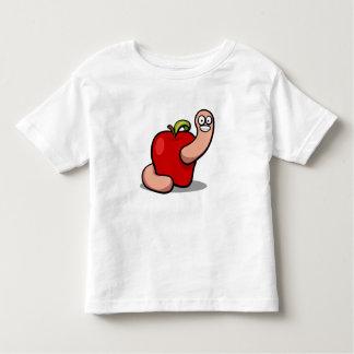Toddler Apple Worm Shirt
