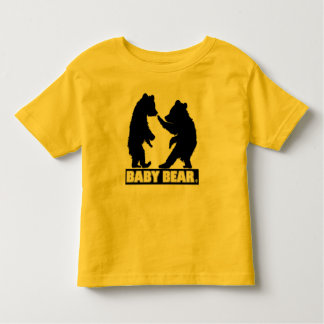 Toddler Bear Designer Modern Clothing Toddler T-Shirt