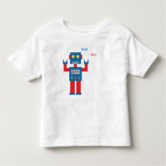 Toddler Beep Bop! Robot Shirt