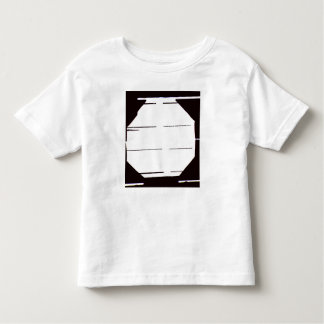 Toddler Black and White Graphic T-Shirt