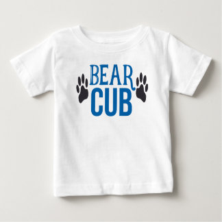 Toddler Boy Bear Cub Paw Print Kid Tshirt