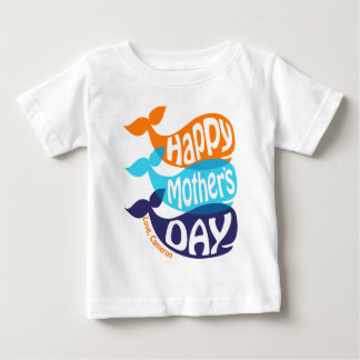 Toddler Boy Mother's Day Shirt Whale T-shirt