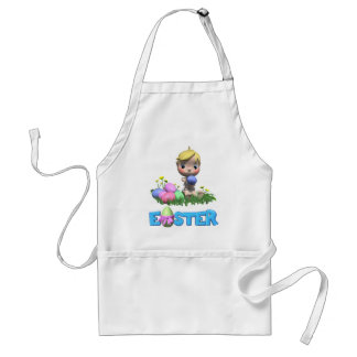 Toddler Celebrates His First Easter Standard Apron