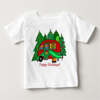 Toddler christmas camping T Baby T-Shirt