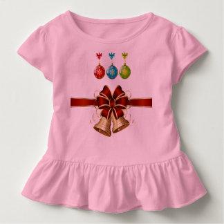 Toddler Christmas Ruffle Shirt
