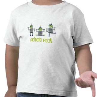 TODDLER CLOTHING robots x 3 Shirt
