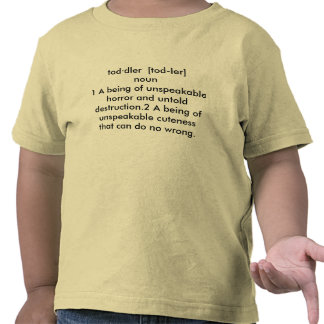 Toddler decription t shirts
