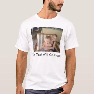 Toddler Edun Soft Shirt with Custom Image and Text