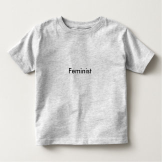 Toddler Feminist T-shirt