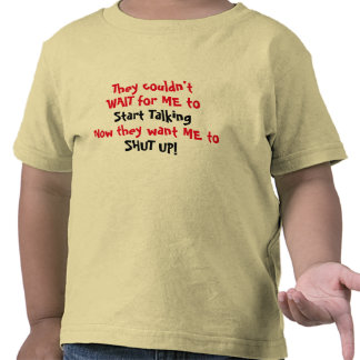 Toddler Funny T-Shirt for Girl or Boy