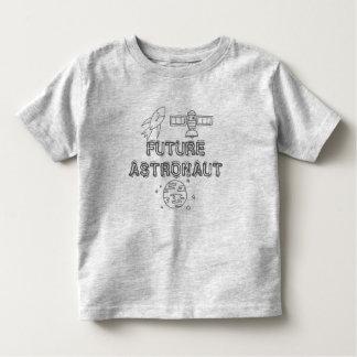 Toddler girl/boy t-shirt for future astronaut